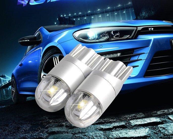 ◇光速LED精品◇T10 12V- 24V汽車貨車 透鏡 led 寬電壓小燈泡 牌照燈 鷹眼燈 高亮行車燈