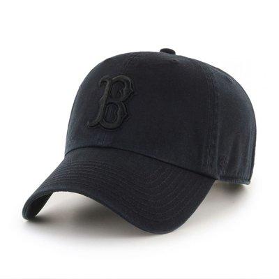 【血拼妞】現貨 47 BRAND BOSTON RED SOX  '47 CLEAN UP 紅襪 棒球帽 經典 黑