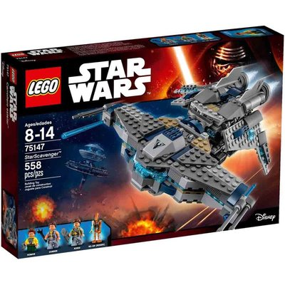 【積木王國】LEGO樂高 星際大戰系列 StarScavenger 75147