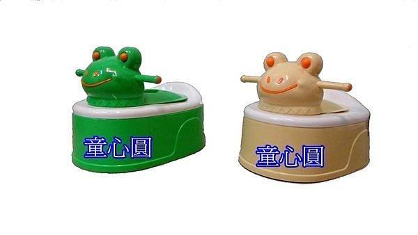 多功能 四合一 大眼青蛙便器 台灣製. 幼兒訓練小馬桶. 可放馬桶上◎童心玩具1館◎