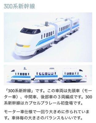 Yujin 火車扭蛋 地下鐵路 新幹線祭り編 (電動 300系新幹線) 2005年
