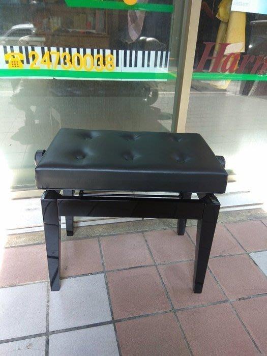 B46∮有琴有藝@日本style全新鋼琴分段型升降椅yamaha.kawai專用六段式黑色台灣製造