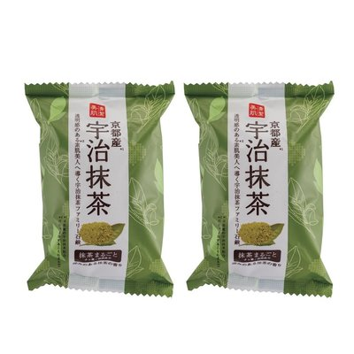 *小容容*(2入)日本製 Pelican 宇治抹茶皂/沐浴皂/香皂 80g