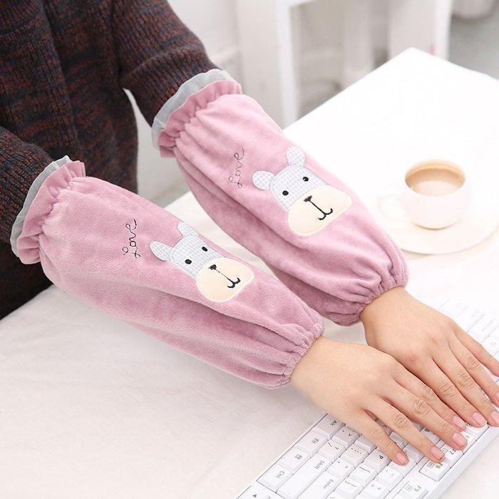 袖套戶外休閒用品正韓國版秋冬季韓版男生女生學生可愛護袖套袖長款成人工作短款兒童手袖頭袖筒11-1