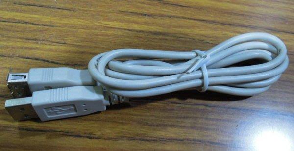 ...點子電腦-北投...高品質散裝◎USB2.0延長線◎A公對A母,長度約1米,只賣20元