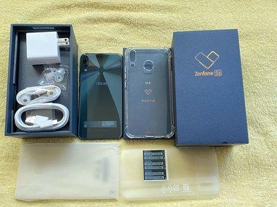 華碩 ASUS Zenfone 5z ZS620KL 6G/64GB 深海藍 原廠全新配件 9成5新無傷 原廠公司貨