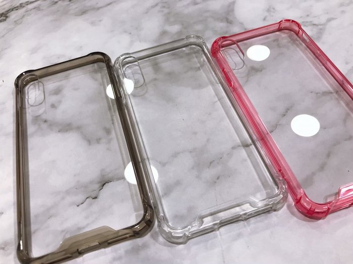 壓克力四角手機殼 透明 不泛黃 iPhone6 i6+ i7 i7+ i8 i8+ iX iXs iXR iXmax