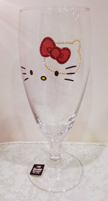 《東京家族》Kitty高腳杯 酒杯