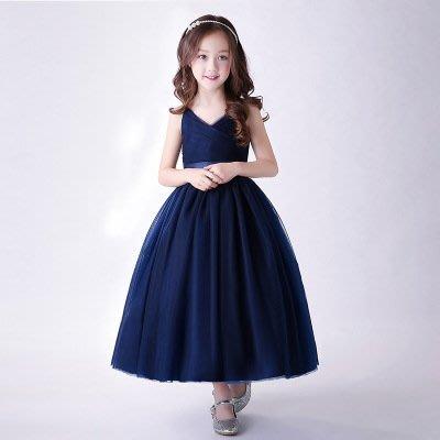 【衣Qbaby】Mi中大童音樂會鋼琴演奏生日宴會公主禮服