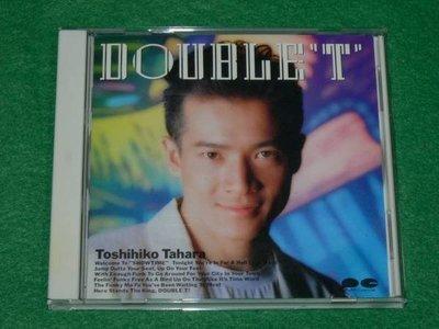 田原俊彥 DOUBLE T  日版CD  收錄郭富城對你愛不完原曲