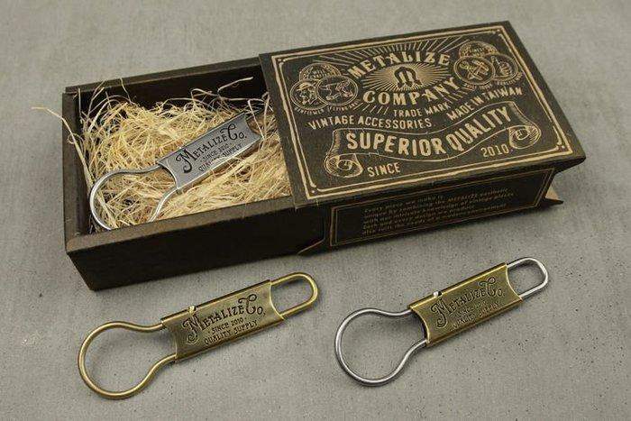 GOODFORIT / 台灣飾品品牌METALIZE Good Old Days 復古鑰匙釦/9x2.7cm