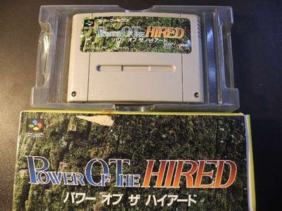 Power of The Hired││Super Famicom│編號:G3
