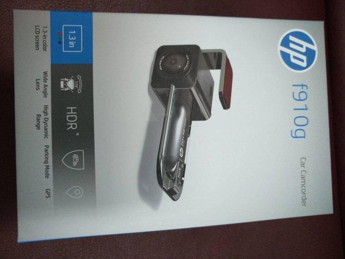 (免運送64G+原廠電力線)HP F910G 超廣角GPS行車紀錄器