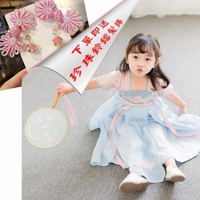 艾町Eyeing Shop 🈶現貨不用等 再送可愛造型髮飾 馬上讓寶貝有仙女飄逸氣質的民族風連身裙 表演裙 外拍服