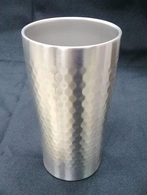一鑫餐具【雙層不銹鋼水杯500CC/P6172】小鋼杯紅酒杯可樂杯果汁杯白鐵水杯隔熱杯
