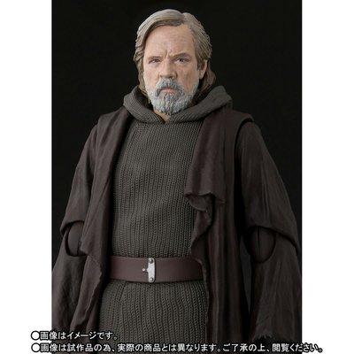 全新 SHF 魂限 日版 STAR WARS viii THE LAST JADI Luke Skywalker