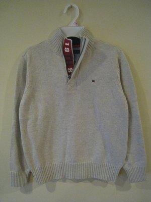 Tommy Hilfiger 男童毛衣 8-10歲尺寸