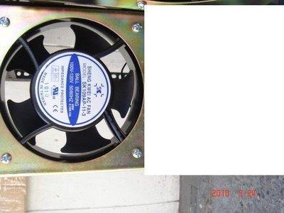 [多元化風扇風鼓]全新4吋無聲靜音1台裝風扇組 110V (音響散熱 吸排都OK)