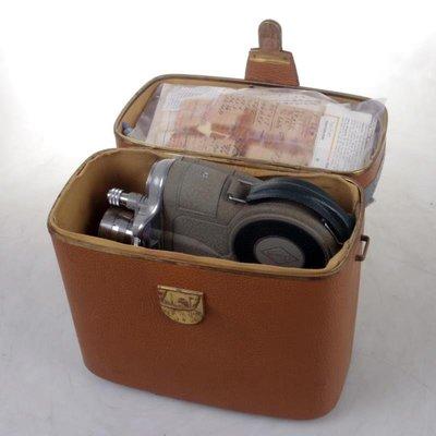 百寶軒 古董奧地利EumigC1616mm16毫米電影攝影機發條動力功能正常 ZG3106