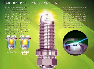 DENSO Iridium TT 雙銥金 針對針狀 火星塞 MAZDA PREMACY 適用(十萬公里壽命)