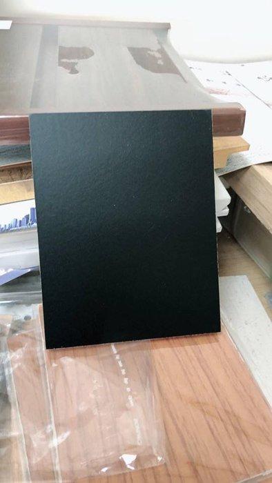 黑色貼皮石膏板 9.5mm 石膏板 防火 DIY 壓花 耐燃 隔熱 隔音 吸音 工業風 輕鋼架 天花板 霧面黑 輕隔間