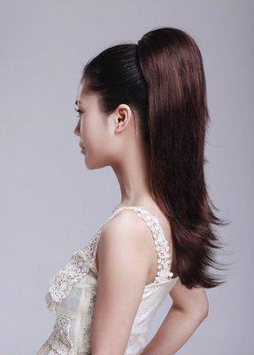 水媚兒假髮MHY011棕♥日韓甜美風格馬尾 快速接髮♥日本高級髮絲 預購