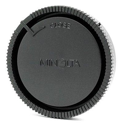 我愛買#Minolta鏡頭後蓋副廠鏡頭後蓋LR-1000鏡頭後蓋鏡後蓋Minolta鏡頭背蓋鏡頭尾蓋美樂達鏡頭後蓋鏡背蓋