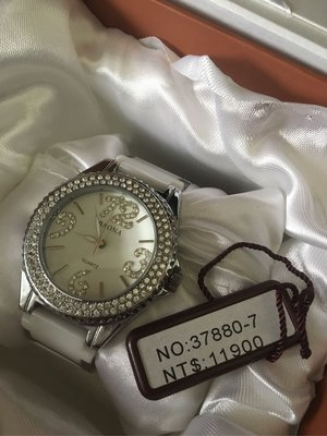 Baona 全新 錶 石英錶 水鑽 女錶 bling bling 手錶