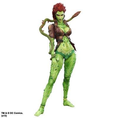 PLAY ARTS改 毒藤女 Poison Ivy 蝙蝠俠 阿卡漢城市系列