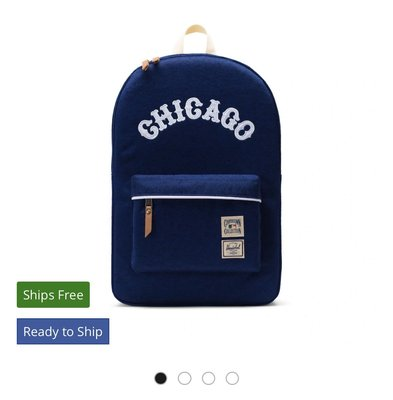 芝加哥小熊隊背包 MLB Chicago Cubs 官方正版