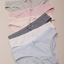 玲玲正韓專賣~貼身日記簡約通勤基礎款純色棉質女士低腰包臀內褲三條組合裝短褲