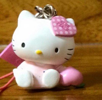 絕版peach john kitty蜜桃派扭蛋吊飾~日本香港限定