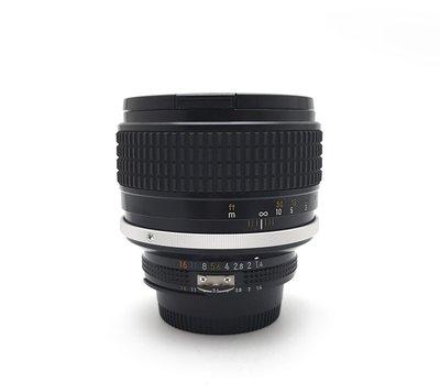 @佳鑫相機@(中古託售品)Nikon Ais 85mm F1.4 大光圈手動人像鏡頭