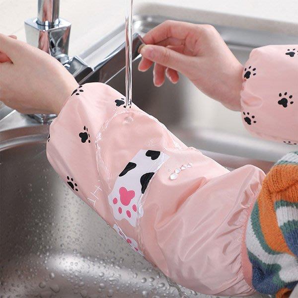 貓掌與仙人掌防水防汙袖套 【JI2292】《Jami Honey》