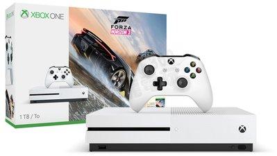 【二手主機】微軟 Microsoft XBOXONE S 1TB 主機 + 一支控制器 白色 不含遊戲片【台中恐龍電玩】