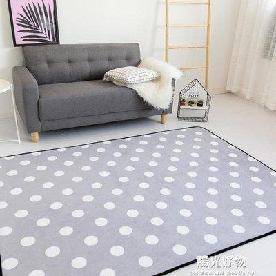 哆啦本鋪 爬行墊地墊水洗客廳地毯茶幾臥室床邊長方形榻榻米多用途高品質慢回彈墊 D655