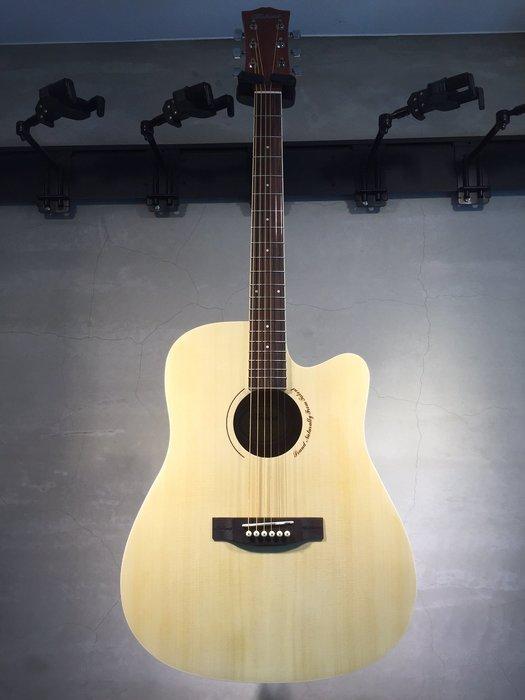 【六絃樂器】全新精選 Talent 41吋 原木色民謠吉他 / 現貨特價