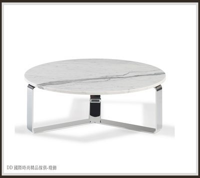DD 國際時尚精品傢俱-燈飾 PRIMUS  Round coffee table(復刻版)大理石茶几