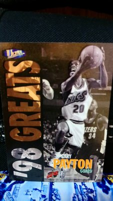 1997-98 Fleer Ultra '98 Greats Gary Payton