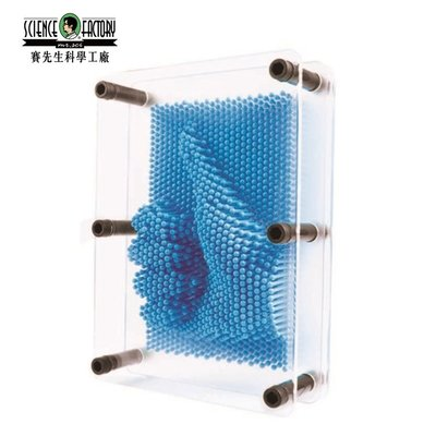 又敗家Mr.Sci賽先生Pin創意Art複製針畫模板CNY18000藝術複製畫3D人臉複製頂針畫拷貝針辦公室小物桌上擺設