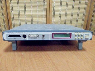 康榮科技二手儀器領導廠商Tektronix MTG200 MPEG Test Generator(MPEG測試產生器)