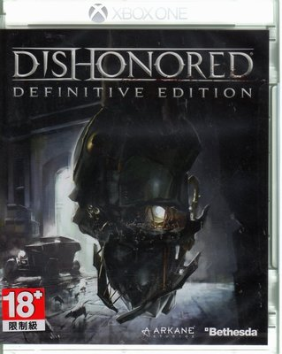 現貨中 XBOXONE 冤罪殺機 決定版 Dishonored Definitive 英文亞版 【板橋魔力】