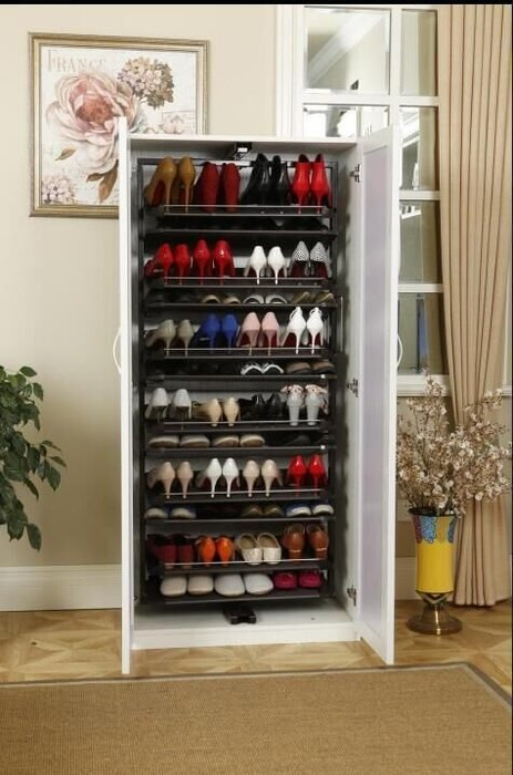 FUO衛浴: 訂做 16層 180度 旋轉鞋架 玄關鞋架 需預訂!