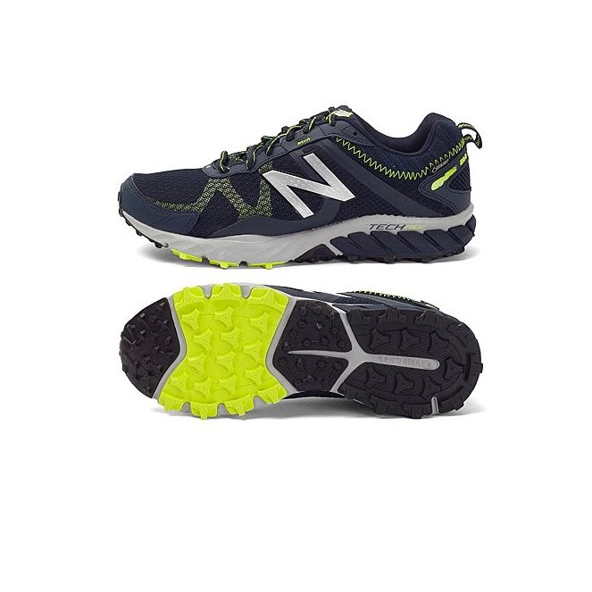 NEW BALANCE T610 輕量 深藍螢光綠 越野 跑鞋 男 MT610GX5 ☆SP☆