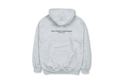 (A.B.E)FORTY PERCENT AGAINST RIGHTS (FPAR) AW19 FPAR HOODED 03 四色