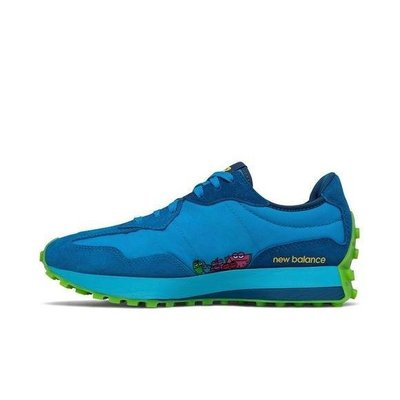台灣未發配色 2020 10月 New Balance x Jolly Rancher 聯名 327 藍色綠色 復古 休閒慢跑鞋