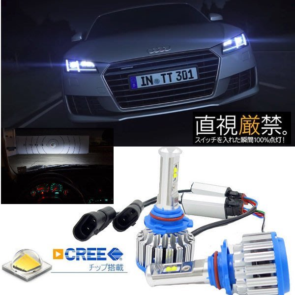 飛馳車部品~ CREE最亮 超亮四晶片LED大燈12V/24V 40W 汽機車都可以用 真正給您如同HID的視覺感受