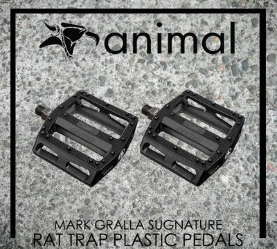 [Spun Shop] ANIMAL BIKES Rat Trap Plastic Pedals 塑膠踏板
