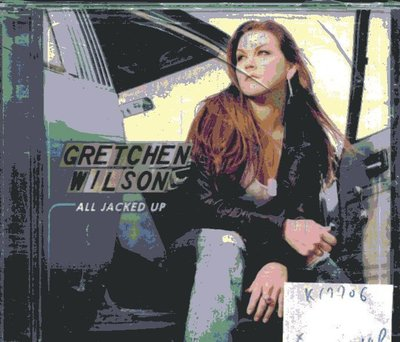 *真音樂* GRETCHEN WILSON / ALL JACKED UP 二手 K17706 (殼破)