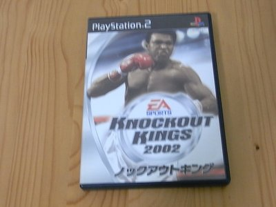 【小蕙館】PS2~ KNOCKOUT KINGS 2002 拳王爭霸賽2002 (純日版)